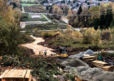 Coquitlam Crunch Pathway Construction BC