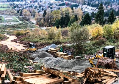Coquitlam Pathway Construction