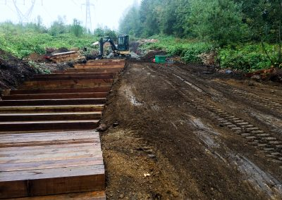 Coquitlam Crunch Pathway Construction